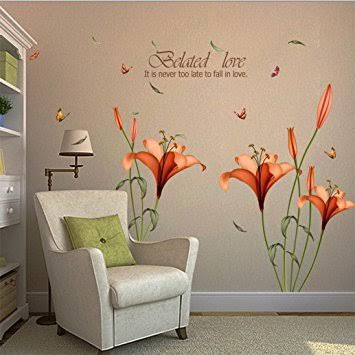 Wall stickers in home decor