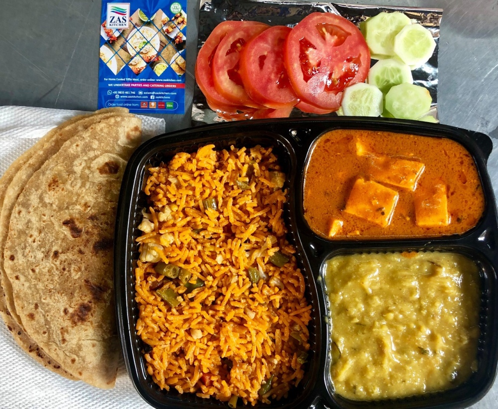 Meal boxes in Mumbai