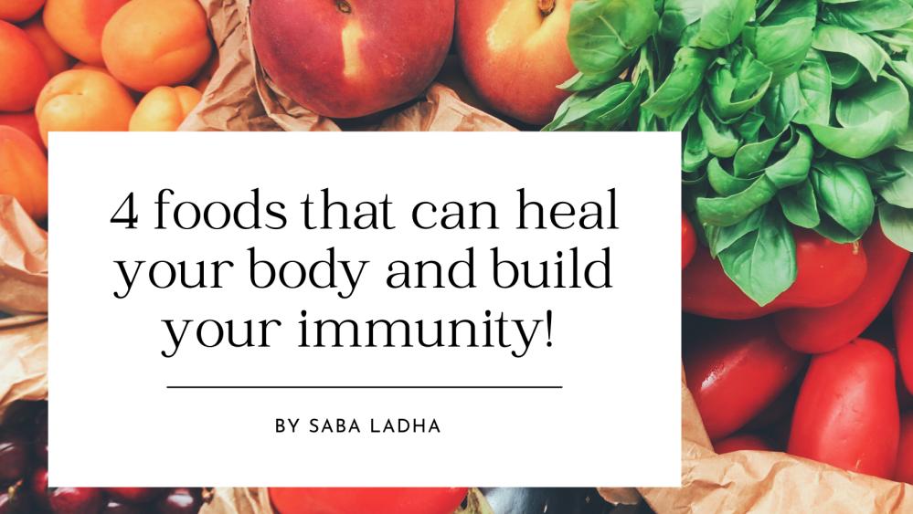 Immunity building food